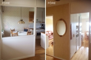 Alltjänstpoolen Linköping – renovera kök – före
